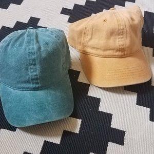 Accessories - NWOT Dad Hat Combo